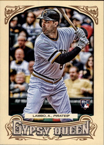 Photo of 2014 Topps Gypsy Queen #104 Andrew Lambo RC