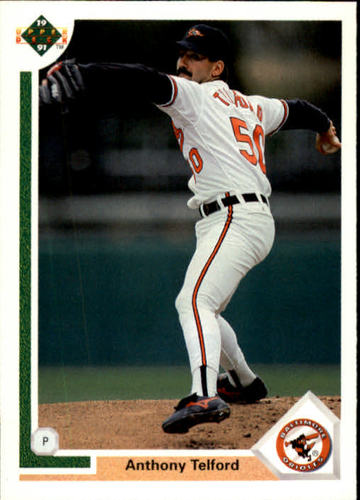 Photo of 1991 Upper Deck #304 Anthony Telford RC