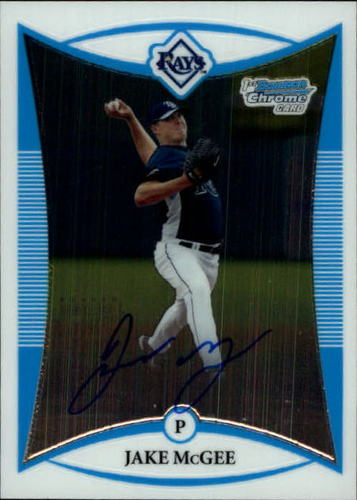Photo of 2008 Bowman Chrome Prospects #BCP274 Jake McGee AU