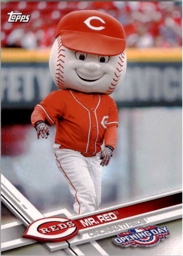 Photo of 2017 Topps Opening Day Mascots #M4 Mr. Red