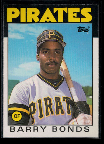 Photo of 1986 Topps Traded #11T Barry Bonds XRC