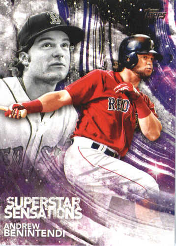 Photo of 2018 Topps Superstar Sensations #SSS27 Andrew Benintendi