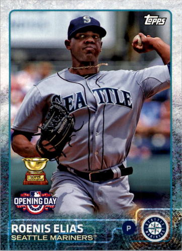 Photo of 2015 Topps Opening Day #52 Roenis Elias