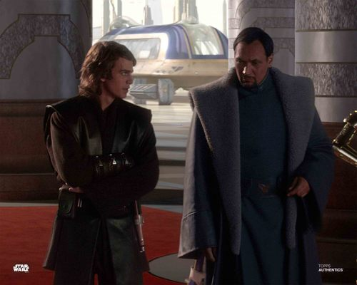 Anakin Skywalker and Bail Organa