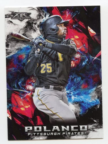 Photo of 2018 Topps Fire #121 Gregory Polanco