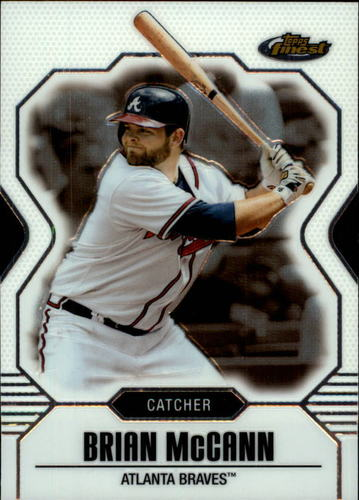 Photo of 2007 Finest #40 Brian McCann