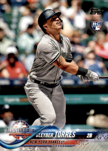 Photo of 2018 Topps Update #US99 Gleyber Torres All Star