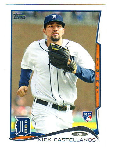 Photo of 2014 Topps #195A Nick Castellanos Rookie Card