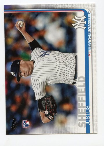 Photo of 2019 Topps #306 Justus Sheffield RC