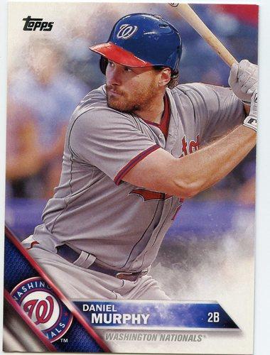 Photo of 2016 Topps #554A Daniel Murphy