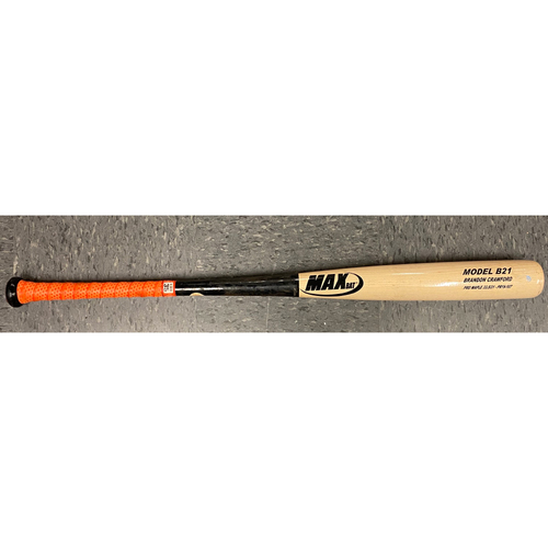 Photo of 2019 Game Used Broken Bat - used by #35 Brandon Crawford on 9/13/19 vs MIA - Single to LF
