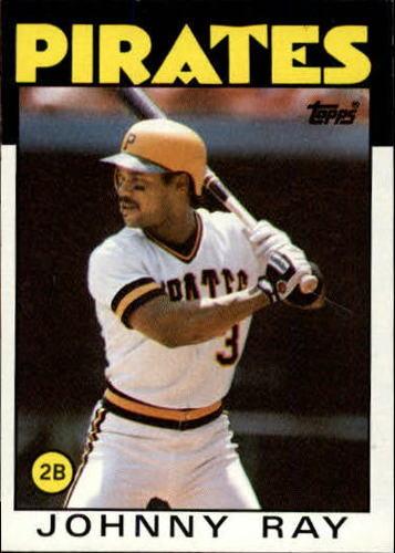 Photo of 1986 Topps #615 Johnny Ray