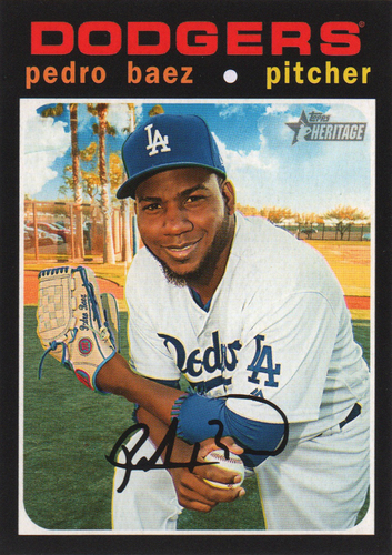 Photo of 2020 Topps Heritage #172 Pedro Baez
