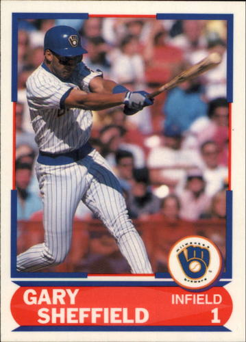 Photo of 1989 Score Young Superstars I #25 Gary Sheffield