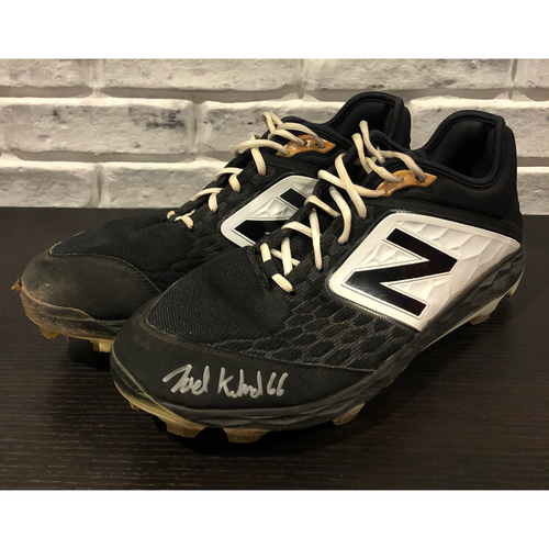 Joel Kuhnel -- Team-Issued Cleats -- Size: 15 (Autograph is Not MLB Authenticated)