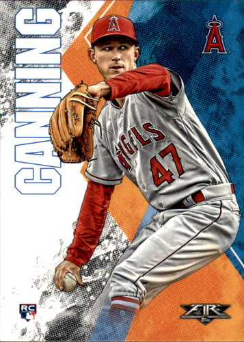 Photo of 2019 Topps Fire #35 Griffin Canning RC