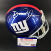 NFL - Giants Daniel Jones Signed Proline Helmet