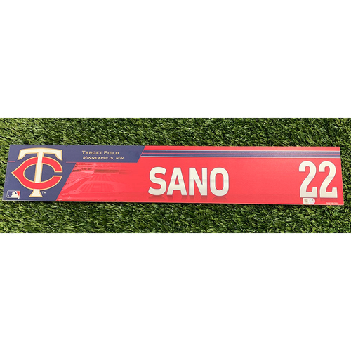 Photo of Minnesota Twins 2016 Game-Used Locker Name Tag - Choose Your Player!