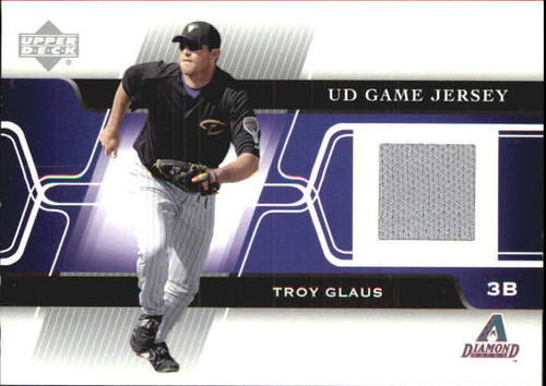 Photo of 2005 Upper Deck Game Jersey #TG Troy Glaus