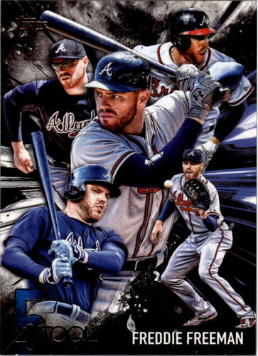 Photo of 2017 Topps Five Tool #5T42 Freddie Freeman