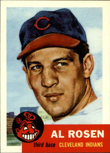 Photo of 1991 Topps Archives 1953 #135 Al Rosen