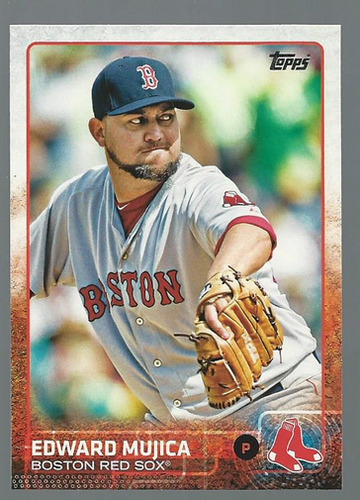 Photo of 2015 Topps #131 Edward Mujica