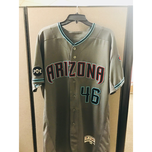 Photo of 2016 Game-Used Patrick Corbin Jersey