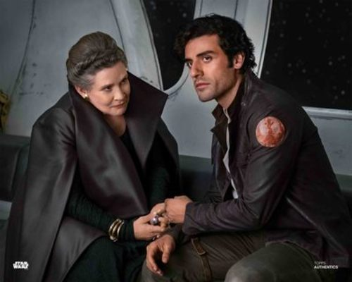 General Leia Organa and Poe Dameron