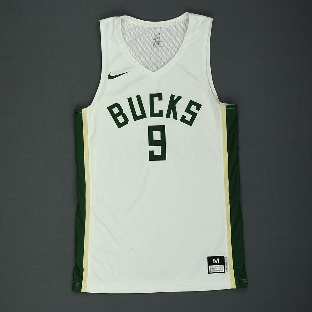 Donte DiVincenzo - Milwaukee Bucks - 2018 NBA Summer League - Game-Worn Playoffs Jersey