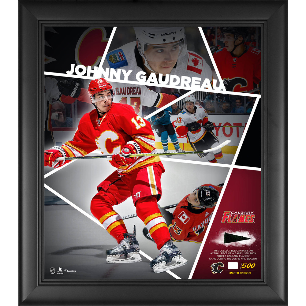 Johnny Gaudreau Calgary Flames Framed 15