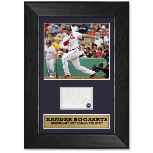 Photo of Xander Bogaerts Game-Used Jersey Plaque