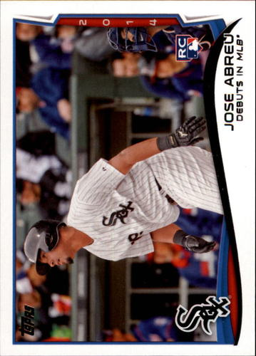Photo of 2014 Topps Update #US100 Jose Abreu RC