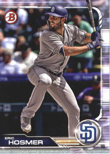 Photo of 2019 Bowman #86 Eric Hosmer