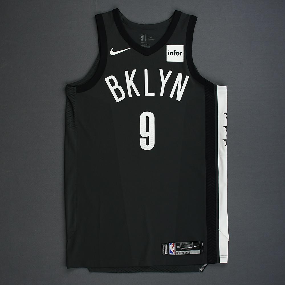 DeMarre Carroll - Brooklyn Nets - 2018-19 Season - Game-Worn Gray Statement Edition Jersey