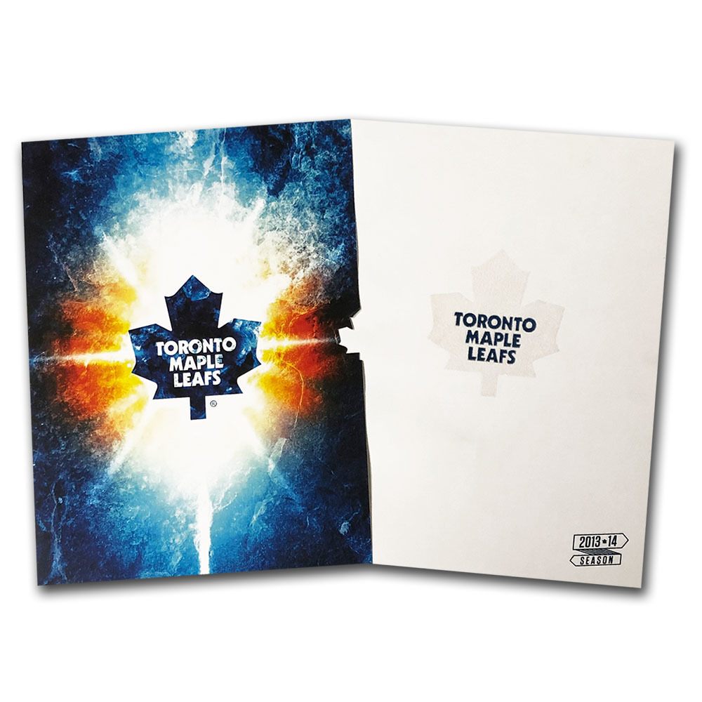 Toronto Maple Leafs 2013-14 Preview Booklet - Season Ticket Holder Gift