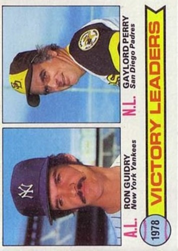 Photo of 1979 Topps #5 Victory Leaders/Ron Guidry/Gaylord Perry