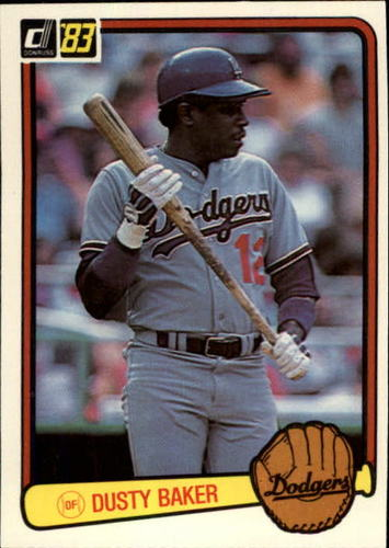 Photo of 1983 Donruss #462 Dusty Baker