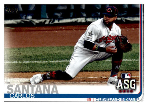 Photo of 2019 Topps Update #US89 Carlos Santana AS