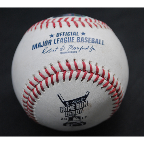 Photo of 2017 Home Run Derby (07/10/2017) - Game-Used Baseball - Miguel Sano (Minnesota Twins) - Round 2, Home Run #9