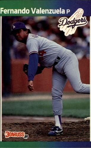 Photo of 1989 Donruss #250 Fernando Valenzuela