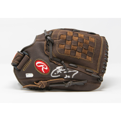 Photo of Eric Hosmer Autographed Youth Right Hand Throw Glove
