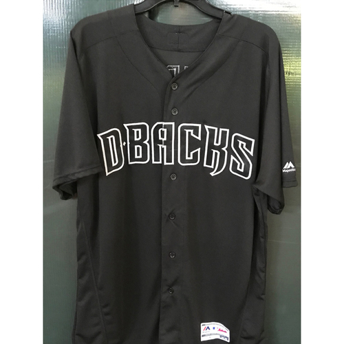 Photo of Cy Young Award Winner Brandon Webb 2019 Autographed Player's Weekend Jersey, Size 48