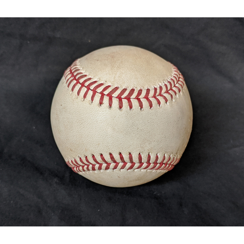 Photo of Game-Used Ball 8/7/20 Giants @ Dodgers: Pitcher Dylan Floro; Batter: Austin Slater (Triple)