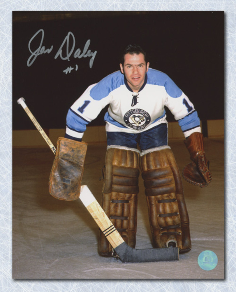 Joe Daley Pittsburgh Penguins Autographed 8x10 Photo