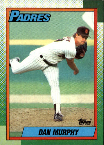 Photo of 1990 Topps #649 Dan Murphy RC