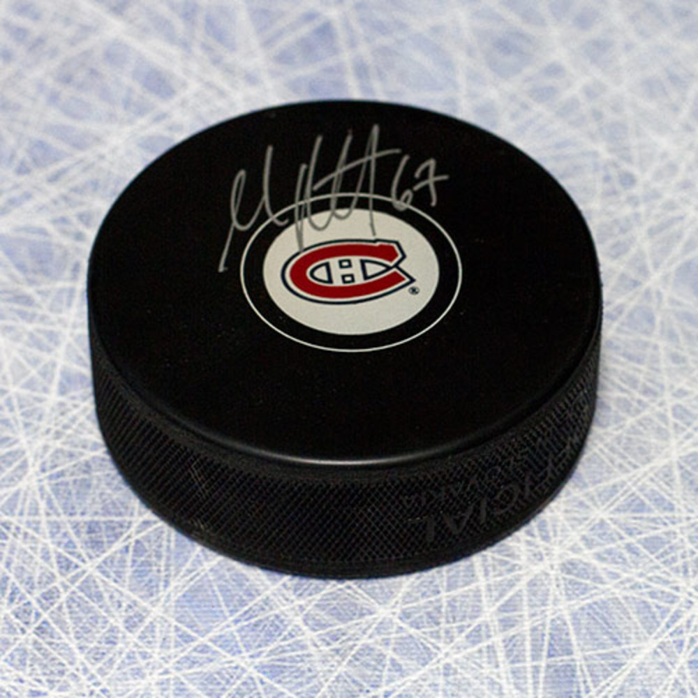 Max Pacioretty Montreal Canadiens Autographed Hockey Puck