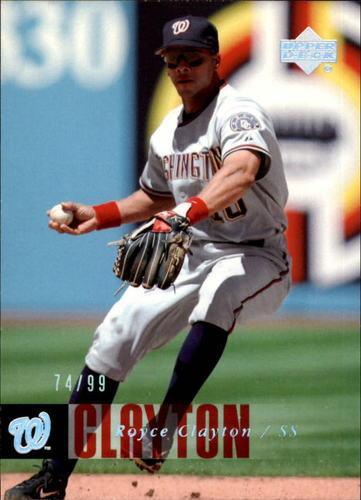 Photo of 2006 Upper Deck Silver Spectrum #869 Royce Clayton /99