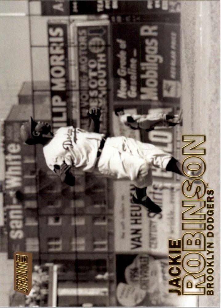 2016 Stadium Club Gold #294 Jackie Robinson