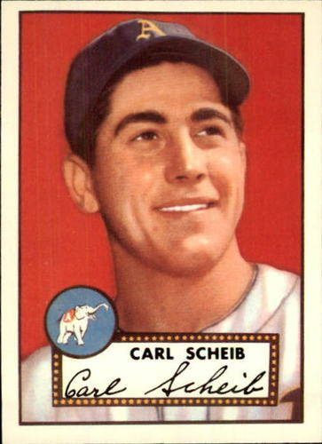 Photo of 1983 Topps 1952 Reprint #116 Carl Scheib