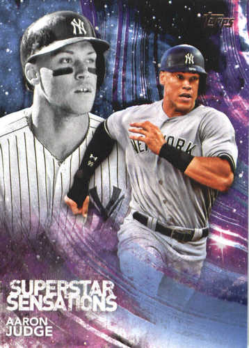 Photo of 2018 Topps Superstar Sensations #SSS30 Aaron Judge